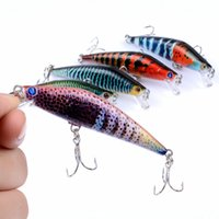2017 NEW lifelike Colorful PS Painted Crank Artificial bait ...