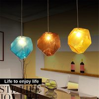 Colorful Crystal Glass Stone Lighting 1 3 Heads G9 Base Indo...