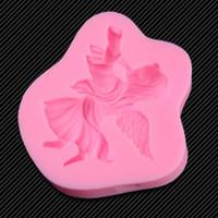 Angel Horn Silicone Mold Cakevorm Siliconen Bakken Gereedschap Keuken Accessoires Decoraties Fondant Tool TY1777
