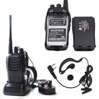 Baofeng BF-888S Tactical drahtlose tragbare Walkie Talkie 5W 400-470MHz Zweiwegradio Sprech beweglicher