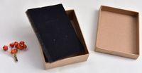 Caixas de embalagem de papel kraft Caixa de presente de casamento e caixa de embalagem de jóias aceitam preço de fábrica personalizada