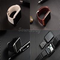 Smart Watch DZ09 für Android-Handy mit SIM-Karte Kamera SMI / TF Männer Bluetooth Armbanduhr Armband Smartwatch Telefon pk gv18 gt08 gv09 m26