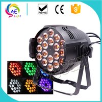 (Pack of 4) 18x15w Full Color 6IN1 RGBW Led Par Light For Di...