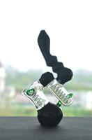 미니 검은 허니 콤 퍼크 봉 14 mm 오일 조작 굴뚝 유리 물 봉지 물 담 뱃 Shisha 버버 유리 물 파이프 봉 예술