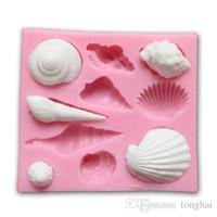 3D Kuchenform Tier Shell Fondant Schokolade Dekor Schimmel DIY Backen Silikon Werkzeug H210332