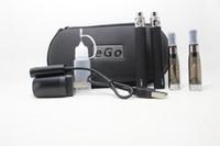 Ego CE4 Kit Electronic Cigarette Starter Kit Ecig E-Cigarette Cremallera caja 2 Atomizers 2 Batería 650mah 900mah 1100mah