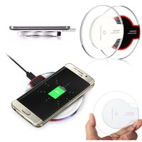 100 PCS Qi Wireless Charger Charging For Samsung s7 edge s8 ...