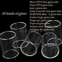 Micro TFV4 Plus Nano Ijust s Coilart azeroth mage SUBTANK Mini - C Topevod Serpent mini 22 / 25mm Limitless XL Pyrex Replacement Glass Tube