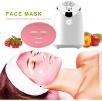 FM001 Маска для лица Маска Автоматические фрукты Маска для лица Maker DIY Натуральная Растительная Маска с Коллагеном Таблетки Английский Голос Уход за кожей