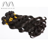 Wholesale body wave Brazilian Hair Weave 100% Human Hair Ext...
