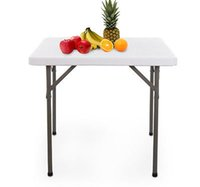 "New 34"" Square Multipurpose Folding Banquet Table - Cam..."