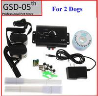 wholesale2 dogs underground electric dog pet fencing system inground electric dog collar dog training trainer collar