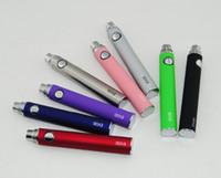 Énorme Vapor EVOD Batterie Pour EGO CE4 CE5 MT3 DCT VIVI NOVA Protom Atomiseur E-cigarette 650 900 1100 mah Livraison Gratuite Rapide