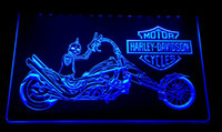 LS3031- b Motorcycle Neon Light Sign Decor Free Shipping Drop...