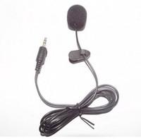 1.5 M Mini 3.5mm PC Dizüstü Dizüstü Için Mini Mikrofon Mikrofon Üzerinde Eller Serbest Klip MSN