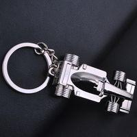 크리 에이 티브 자동차 키 체인 모든 휠 레이싱 키 체인 F1 레이싱 금속 키 체인