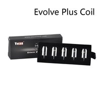 Autentico YOCAN EVOLVE PLUS XL EVOLVE D PONDAND REGEN QTC Coil QDC Ceramic Quad Core Head Testa VAPorizer Kit Bobina 100% originale