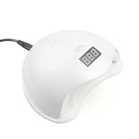 LCD ekranı ile Sıcak 48W UV LED Lamba Tırnak Kurutucu SUN5 Tırnak Lambası Kür UV Jel Lehçe için Otomatik Sensör Manikür Makinası Display