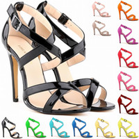New Arrival Womens Summer Fashion High Heel Sexy Ankle Strap...