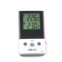 Dual- Screen Dual Temperature. Two External Sensor Thermomete...