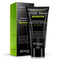 Bioaqua الأسود قناع الوجه البثرة المزيل 60 جرام التطهير العميق البثرة قناع الوجه شحن مجاني