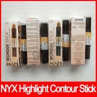 Nyx profundo cor maravilha stick stick e contornos shade stick luz profunda face fundação bronzers corretivo