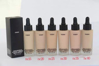KOSTENLOSE DHL Neue Ankunft Kosmetik Studio Waterweight Flüssigkeit Flüssigkeit Foudantion SPF30 / A ++ Foundation Creme BB Primer Gesicht Schönheit einwandfreies Make-up