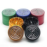 1 pc Maze Game Grinders 63mm Durchmesser 4 Teile Metall Grinders Herb Grinders Herb Crusher vs Sharpstone Schleifmaschinen