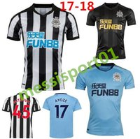 HOT 2017 2018 Newcastle United Home Away third 3rd Soccer Je...