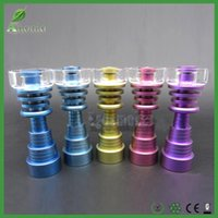 Smoking Accessories Colorful Anodized domeless Tianium Nail ...