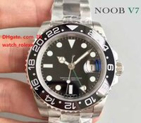 Mens High Quality Luxury Watch GMT 116710LN Black Ceramic Be...