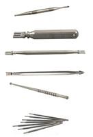 Venta al por mayor de titanio Dabble Gr2 Ti Nail Dabbing Tool corto Titanium Dab para bongs de vidrio Dabber Dabb Glass Tube Dabber envío gratuito