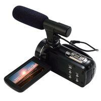 ORDRO HDV-Z20 WIFI 1080P Full HD Videocámara digital con videocámara 24MP 16X Zoom Recoding 3.0