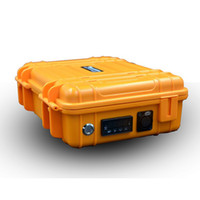 Wunderbarer tragbarer Box E Digital-Nagel-Kit mit neuen Upgrade-Ti / Qtz Hybrid Nagel Fit Heizregister für Bohrinsel Glasbong