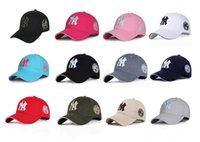 11 Color Yankees Hip Hop MLB Snapback Casquettes NY Casquettes MLB Unisex Sports New York Ajustable Bone Femmes casquette Men Casual headware