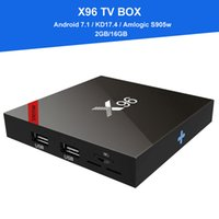 [Genuine] X96 Android TV box Amlogic S905W Quad Core Android...