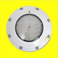 Montado en la pared 300 mm 27W 32W F5 IP68 ABS LED LED PISCINA, 12VAC Cambiando el control remoto Par56 LED Lámpara subacuática para piscina