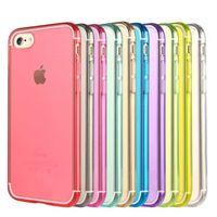 Custodie per cellulare per iPhone 7 Iphone7 I7 7G 7gen 7th Ultra trasparente trasparente per gel di silicone TPU trasparente