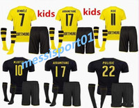 2017 2018 children + socks bundes liga REUS kids jerseys 17 ...