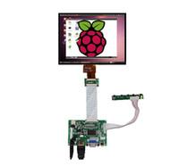 Scheda driver da 8 pollici HDMI / VGA / AV Control + Display LCD da 8 pollici pollici HE080IA-01D 1024 * 768 per Lattepanda, Raspberry Pi