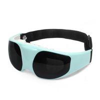 Vibração Elétrica Eye Massager e Relaxamento Massagem Óculos Miopia Instrumento de Cuidados de Saúde Com Cabo USB e Adaptador