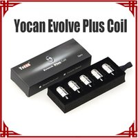 Yocan Evolve Plus-Spulen Keramikspulen Quarz Dual-Spulen E-Zigarettenspulen-QDC-Spule für Evolve Plus-Verdampfer
