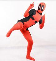 kids deadpool costume superhero cosplay children halloween costumes for adults and kids spandex boys mens cosplay zentai custom