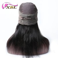 xblhair 360 full lace wig virgin brazilian human hair straig...