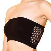 Mulheres sexy strapless top colete respirável esportes bras bandeau boob tubo frete grátis moderno novo estilo