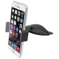 CD Slot Car Mount Phone Holder Easy One Touch Installation f...
