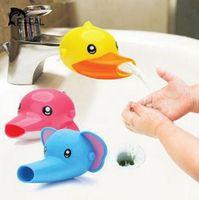 1 PC Extensión encantadora del grifo de dibujos animados para niños niños para niños lavado de manos en baño Accesorios de lavabo