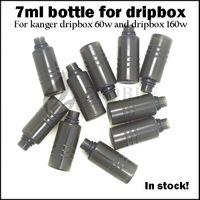 Dripbox 병 7ml 전자 주스 vape 액체 병 kanger dripbox 60w 스타터 키트 subdrip 160w dripbox 160 교체 애완 동물 병에 대 한 예비 탱크