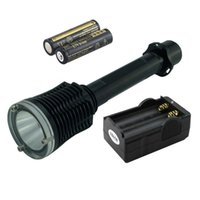 Waterproof 2000 lm XM- L T6 LED Diving Flashlight UnderWater ...