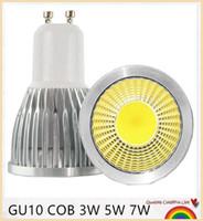 السوبر مشرق gu10 led لمبة 3 واط 5 واط 7 واط بقيادة مصباح ضوء gu10 البوليفيين عكس الضوء gu 10 الصمام الاضواء الدافئة / الباردة الأبيض شحن مجاني